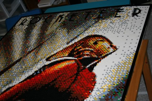 The Rocketeer Lego Mosaic