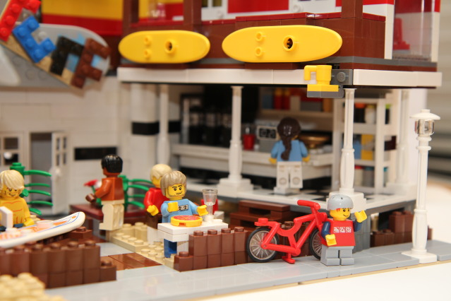 Surf_Coffee, Lego creation by Brickwares