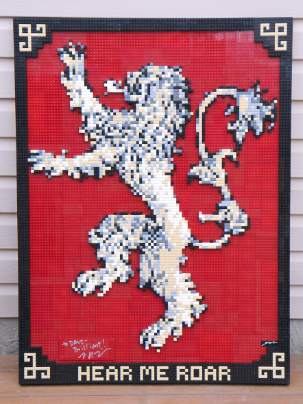 Game of Thrones Lannister Crest