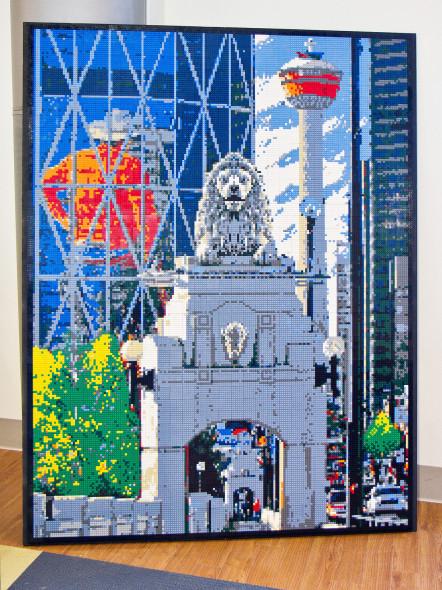 Calgary Lego Mosaic