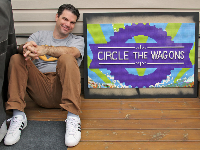 Dave with Circle the Wagons